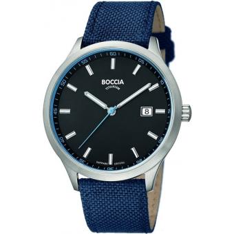 Титановые наручные часы Boccia Titanium 3614-02