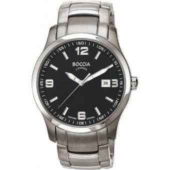 Титановые наручные часы Boccia Titanium 3626-03