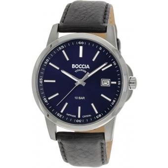 Титановые наручные часы Boccia Titanium 3633-01