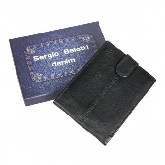 Портмоне Sergio Belotti 533-01 denim black