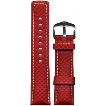 Hirsch Carbon L Ремешок для наручных часов 025920-20-2-24