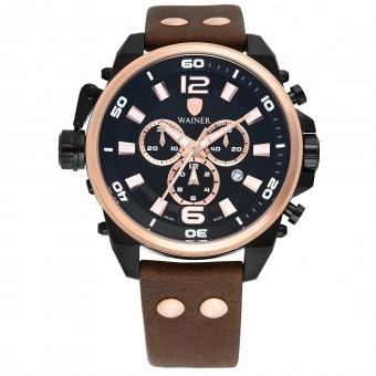Швейцарские наручные часы Wainer WA.10980-O с хронографом