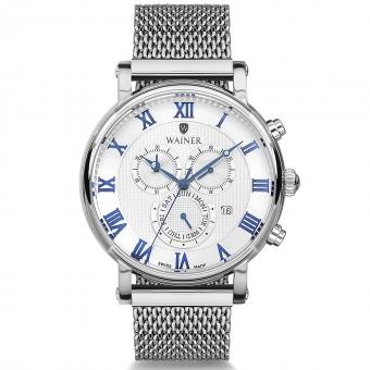 Швейцарские наручные часы Wainer WA.17444-A с хронографом