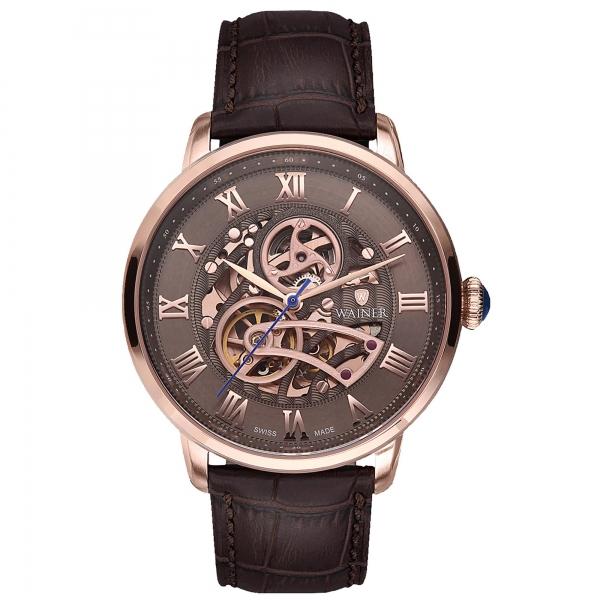 Швейцарские механические наручные часы Wainer WA.25990-C