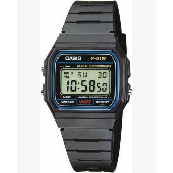 Японские наручные часы CASIO F-91W-1YEG