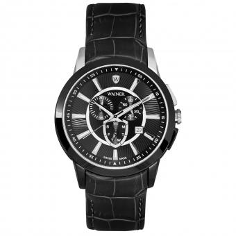 Швейцарские наручные часы Wainer WA.16571-A с хронографом