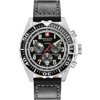 Ремешок для наручных часов SWISS MILITARY HANOWA 06-4304.04.007.07