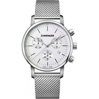 Швейцарские наручные часы Wenger 01.1743.106 с хронографом